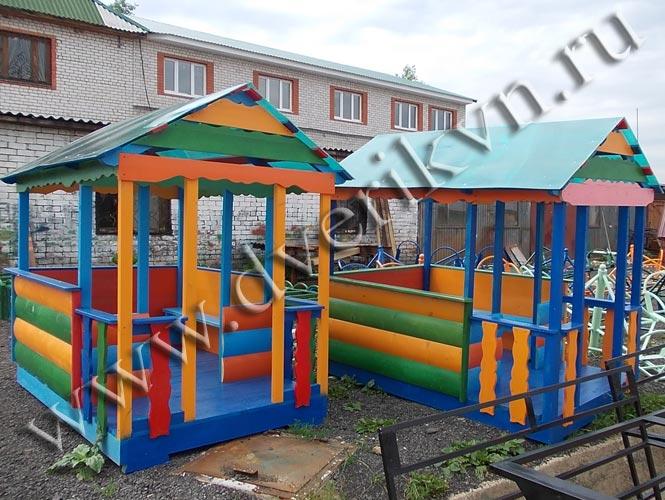 Домик на детскую площадку в детский сад