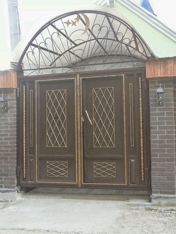 стальные двери и ворота