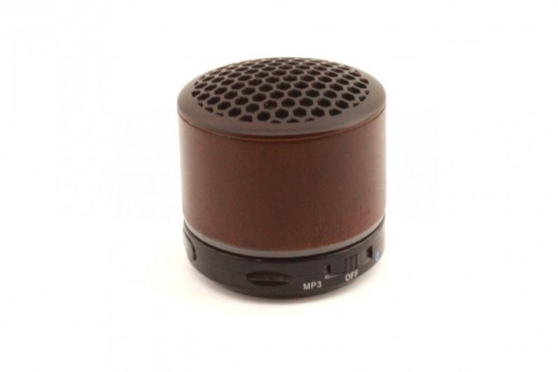 Деревянная блютуз колонка Mini Speaker Wood