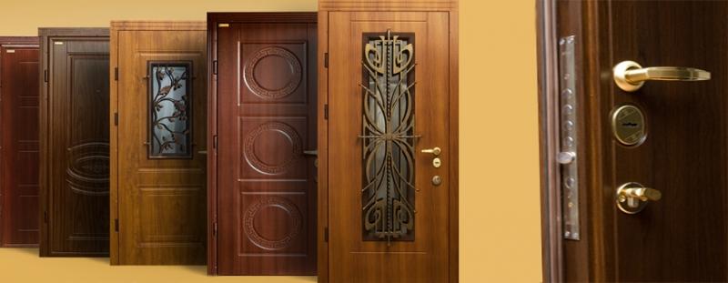 металлические бронированные двери от производителя