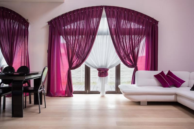 Дизайн и пошив штор, ламбрекенов, покрывал.