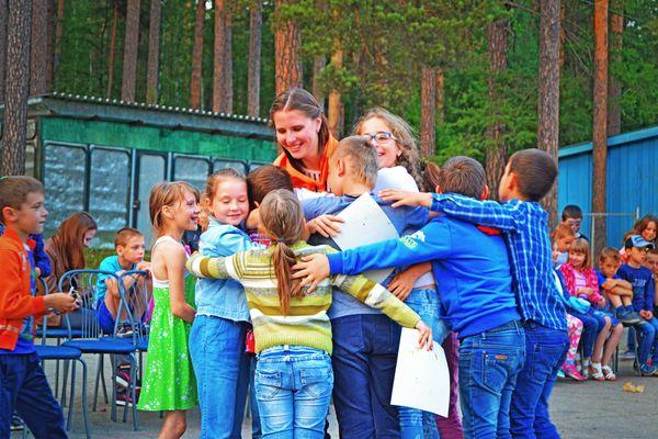 Детский лагерь на озере Тургояк