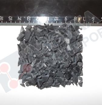 Полипропилен дроблный под чрный закрас 01030