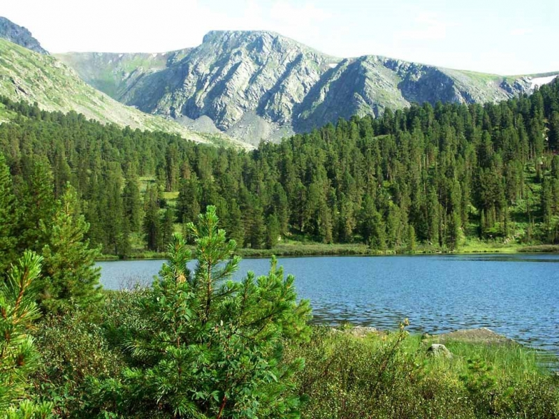 Пленэры на Каракольских озерах в июле.