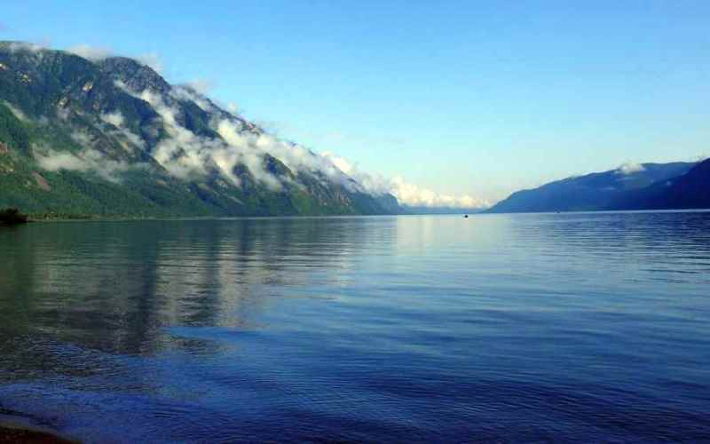 Арт-тур на Телецком озере в августе