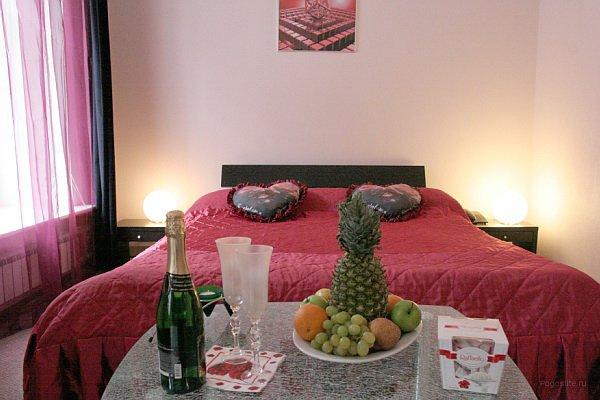 Номера гостиницы Барнаула для романтичного вечера