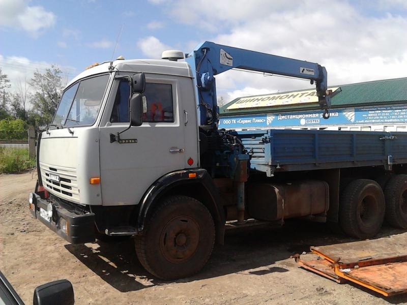 Услуги манипулятора КАМАЗ 10 тонн в Кургане