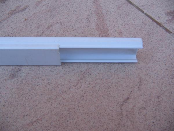 Кабель-канал 30х15 мм светло-серого цвета