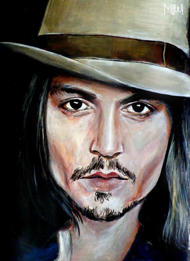 Портрет красками акрил, масло на заказ