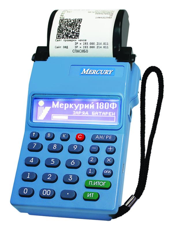 Онлайн-касса Меркурий-180Ф с ФН