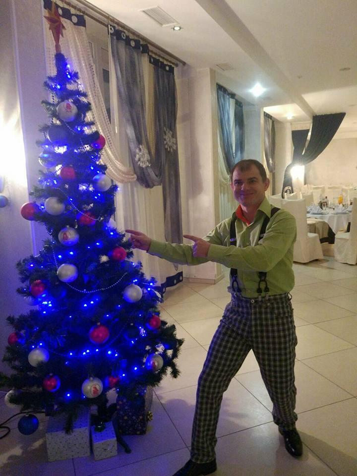 Новогодний корпоратив в Киеве. Ведущий, ди джей, Дед Мороз Киев