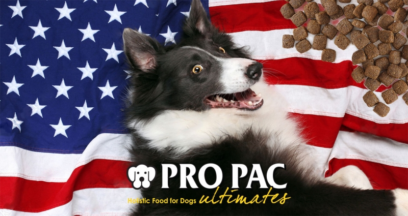 Американский корм для собак та котв Pro Pac Ultimates