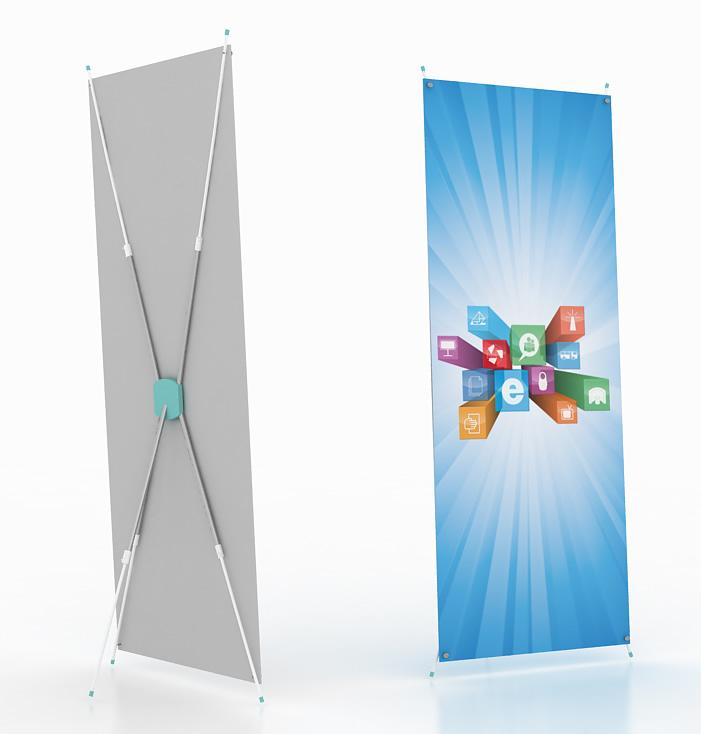 Х-баннер телескопический универсальный
