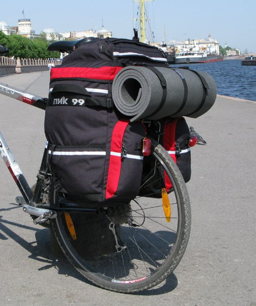 Отличный велорюкзак для велотуризма пик-99 трек65