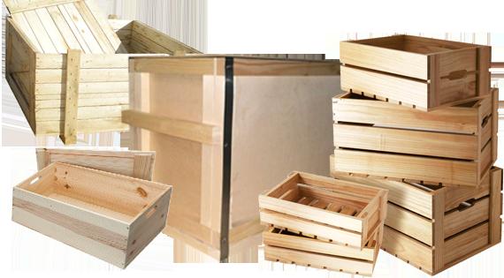Тара, ящики деревянные для фруктов и овощей
