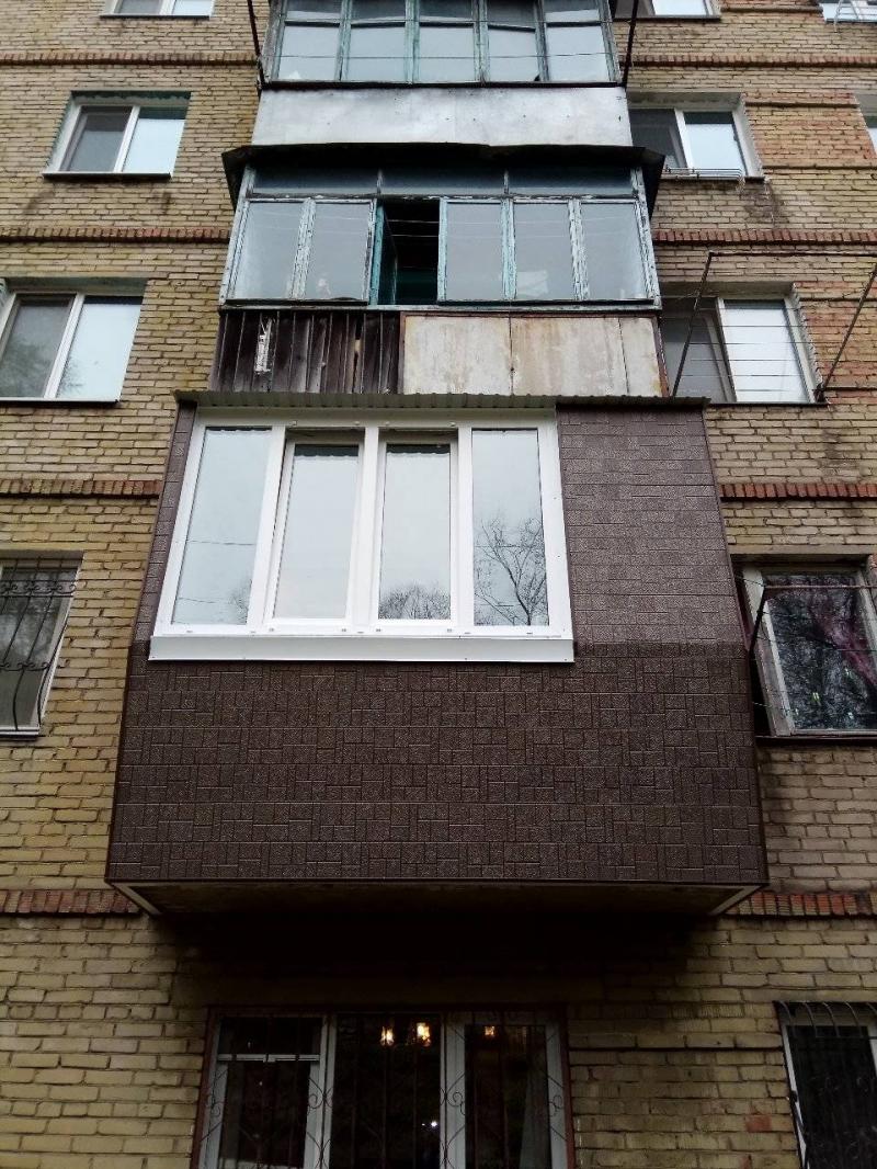 Балконы Остекление Расширение Отделка