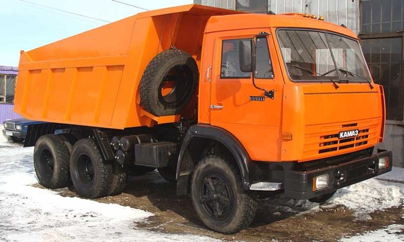 КамАЗ 55111 бу кап ремонт нов кузов от 65115.