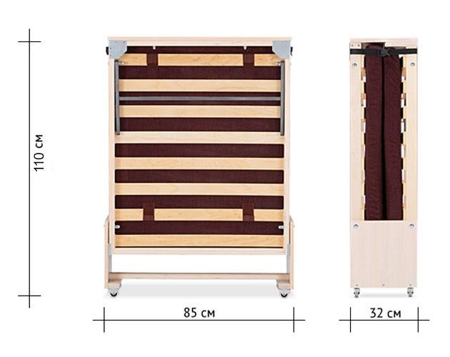 Раскладная кровать для загородного дома  7350 р.