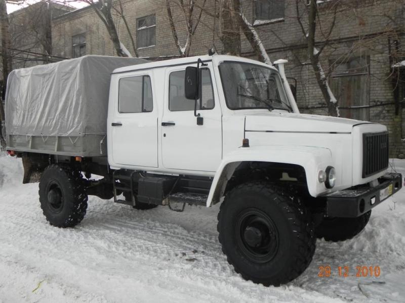 Автомобиль ГАЗ 33088 Егерь 2 с двухрядной кабиной