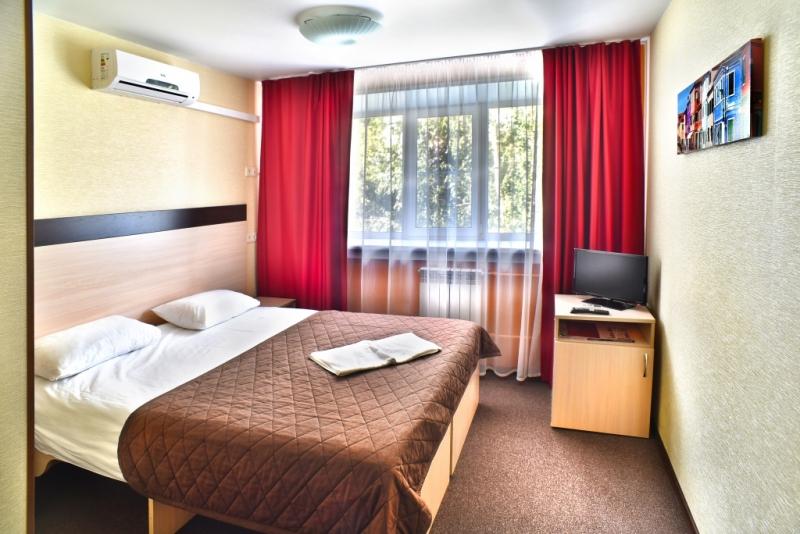 Гостиница города Барнаул в спальном районе
