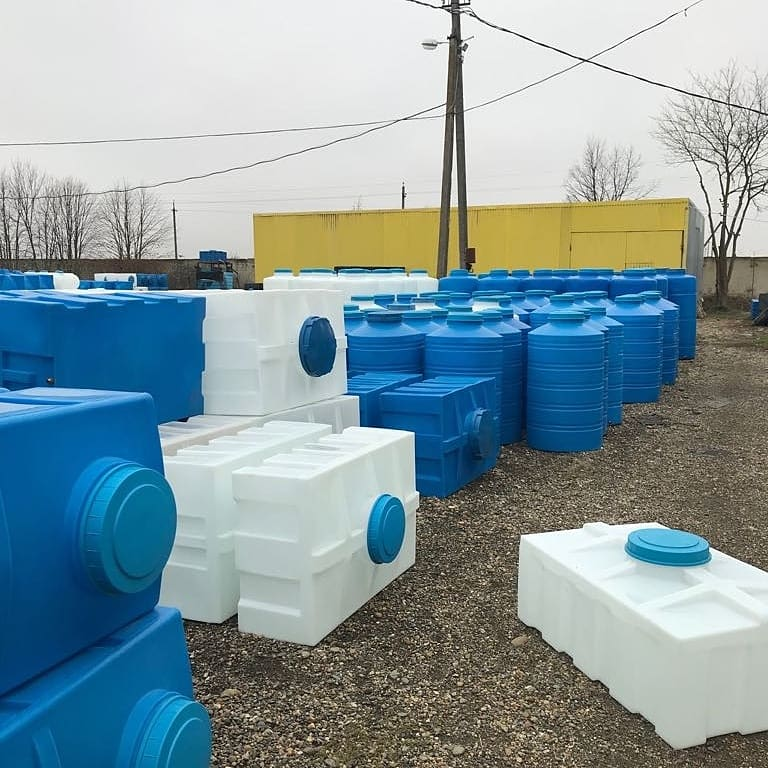 Баки и Емкости для Воды и Дизельного топлива от 50 до 20тонн