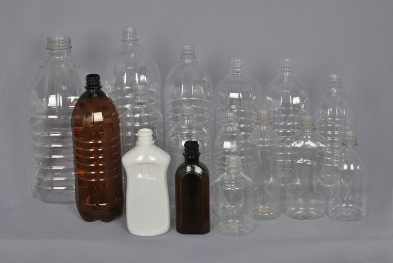 Пластиковая бутылка пэт от 0.1 до 5 л. Доставка