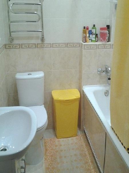 Тольятти.  Ванная, санузел, кухня