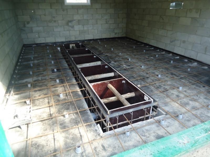 Ремонт смотровой ямы, ремонт погреба в Красноярске