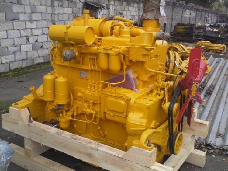 Двигатель Д-160Д-180 на трактор бульдозер ЧТЗ