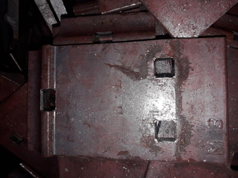 Подкладка Д-24 Д24 ГОСТ 8142-89 СТ3СП для рельс Р24 новая по 129 000 руб.т