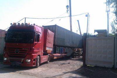 Перевозка  контейнеров 40 и 20 футов.