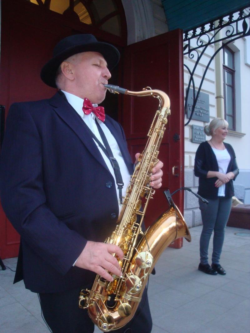 Саксофонист на праздничные мероприятия