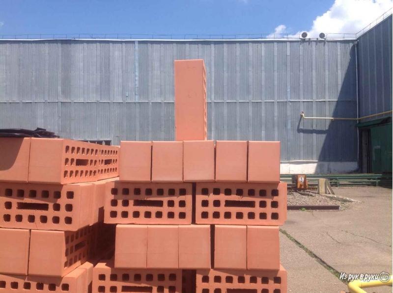 Кирпич лицевой новокубанского завода предлагаю напрямую с завода