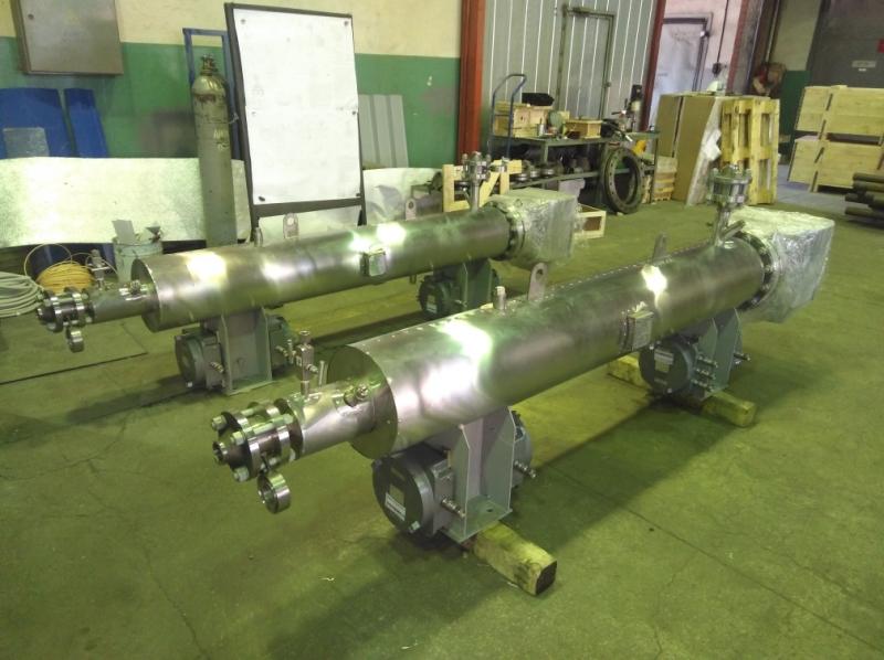 Электрические подогреватели газа и жидкости