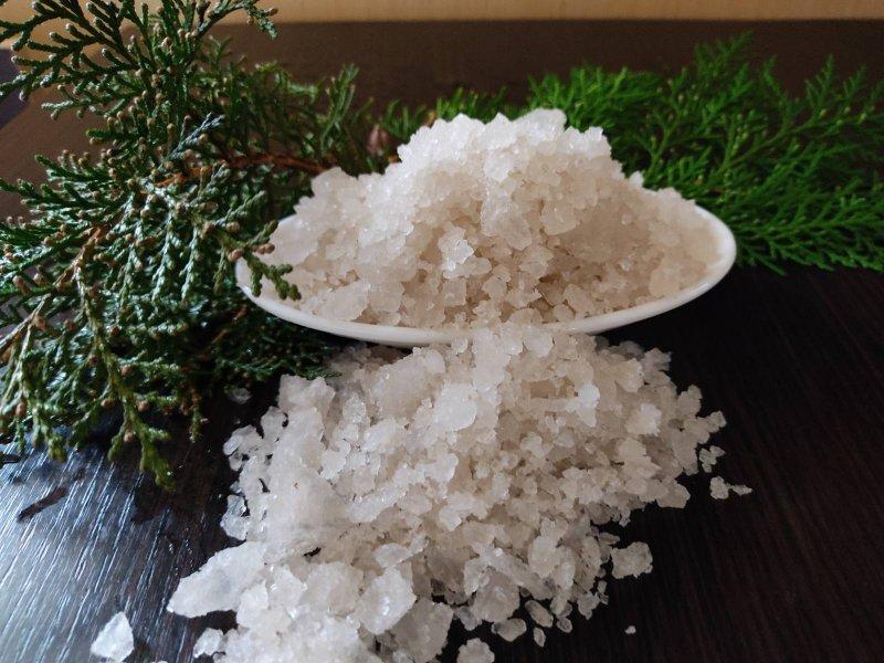 Крымская морская соль. Розовая соль