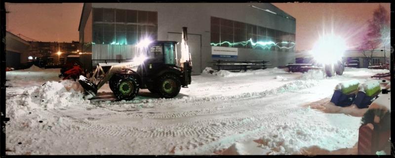 Срочный вывоз снега СПб