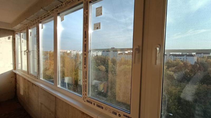 Окна REHAU- остекление,утепление  лоджий