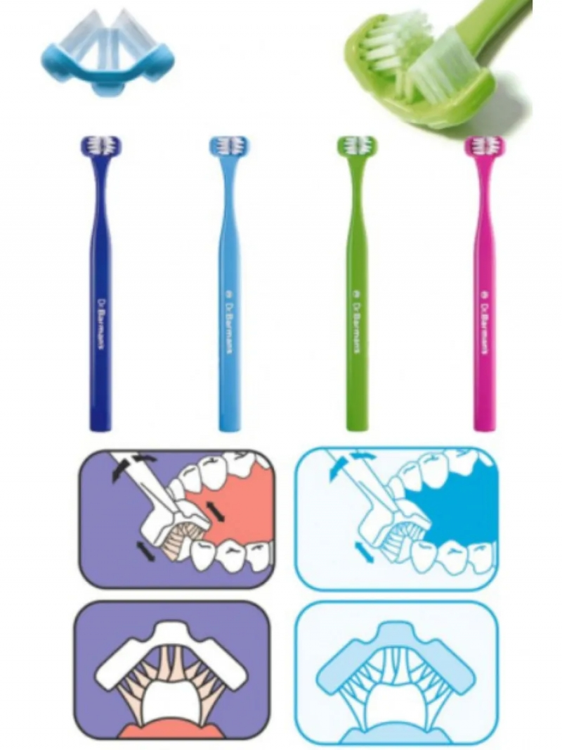 Dr.Barmans Зубная щетка SuperBrush Teen, для взрослых 12