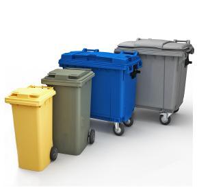 Мусорный контейнер 1,1 м3, 1100л и любых объемов