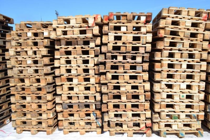 Продать поддоны деревянные бу, высокая цена в Брянске